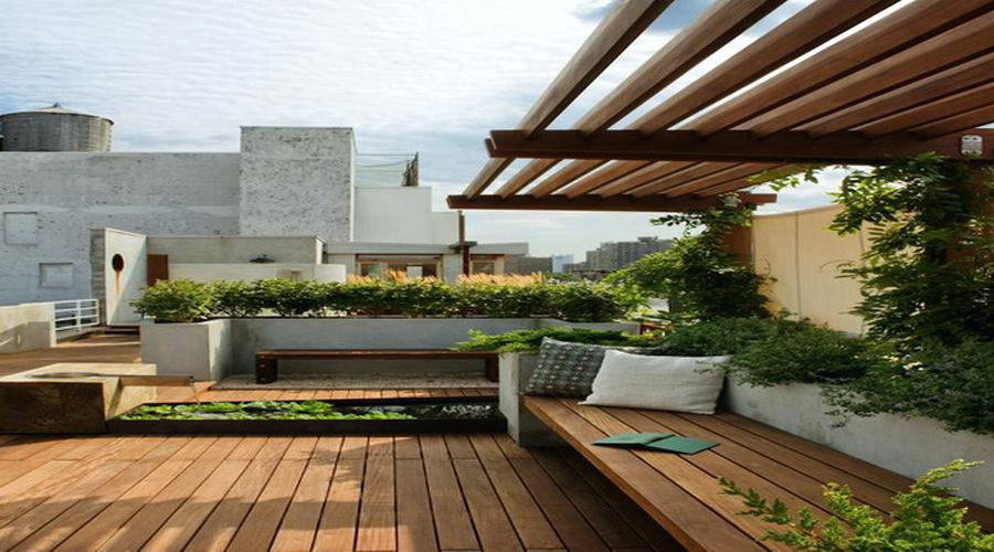 On Style Today 2020 10 26 Charming Roof Garden Design Ideas Here